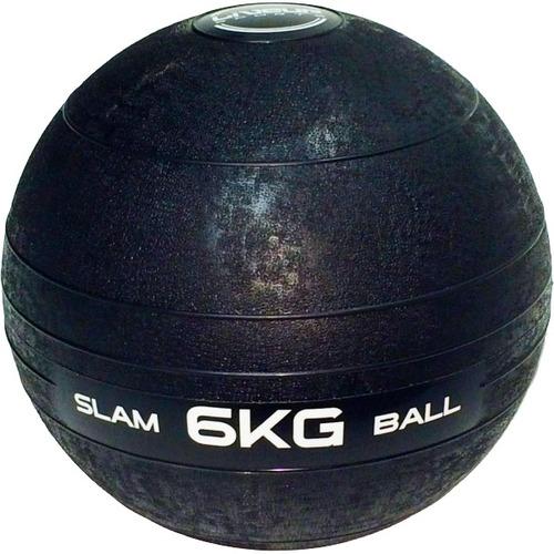 slam ball bola liveup medicine para crossfit 6 kg ls3004-6