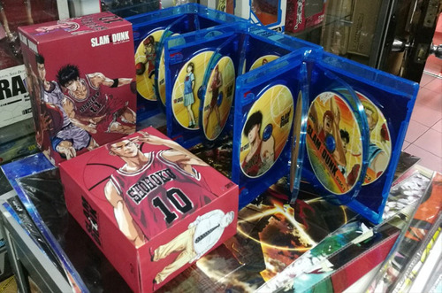 slam dunk bluray box complete collection