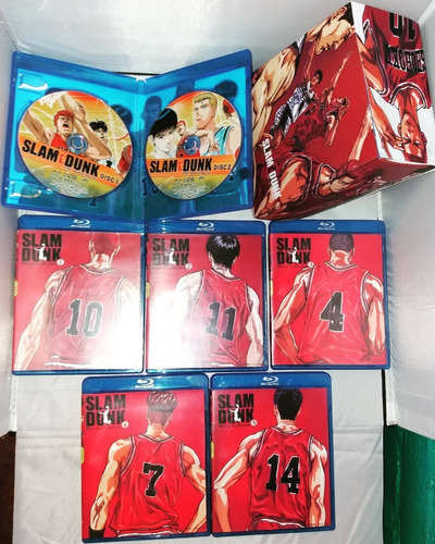 slam dunk coleccion completa blu ray box