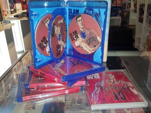 slam dunk + movies blu ray completa