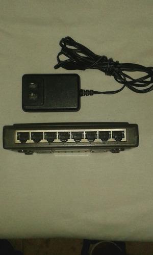 slanpro switch fast internet 10/100m lp-sw811 15 d