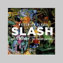 slash world on fire cd nuevo
