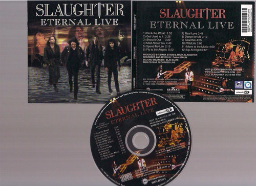 slaughter- eternal live - cd - by maceo
