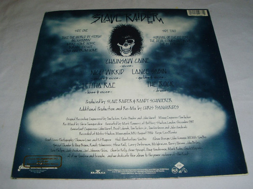slave raider - take the world by storm '88 ( heavy hard usa