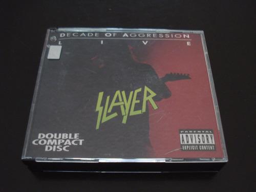 slayer - decade of aggression (2cds) nacional