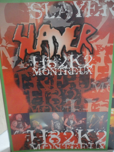 slayer dvd k82k2 montreux 2002 live  70 minutos original
