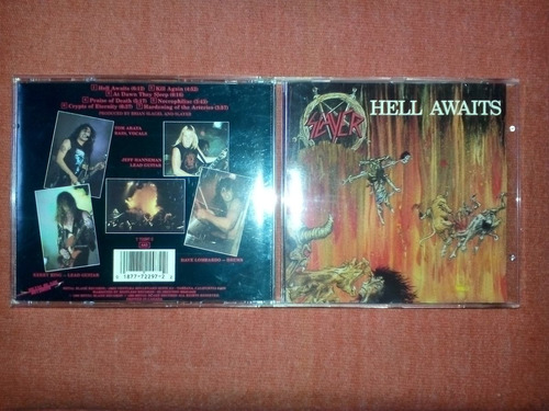 slayer - hell awaits cd usa ed 1993 mdisk