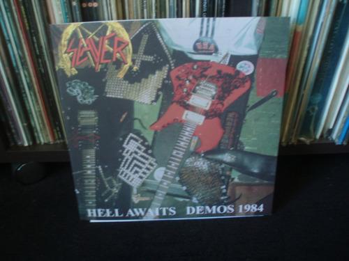 slayer -hell awaits demo 1984 - importado lp