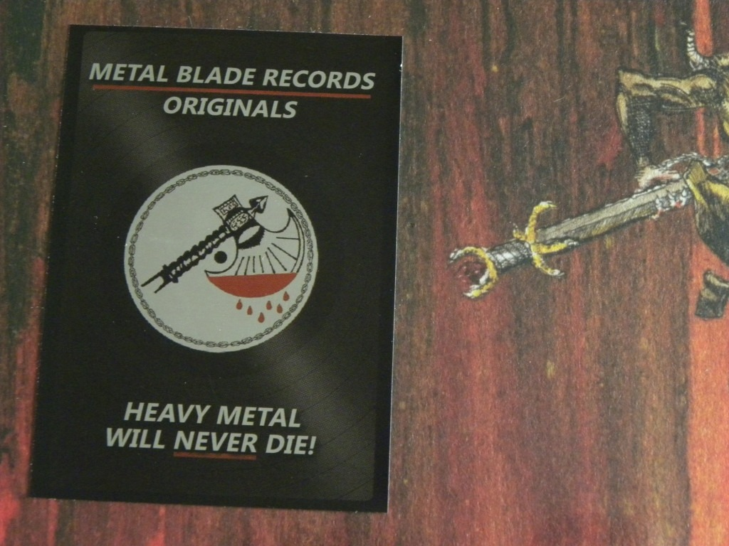 Slayer Hell Awaits Lp Ocher Marbled Lacrado Pronta Entrega