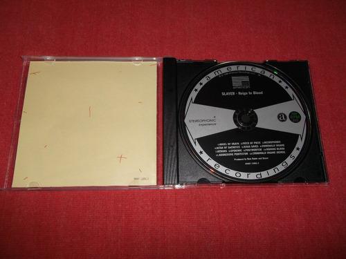 slayer - reign in blood bonus tracks cd usa ed 2007 mdisk
