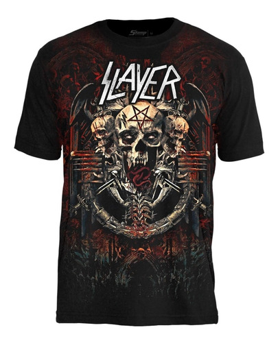 slayer - the end is near camisa premium rock in rio