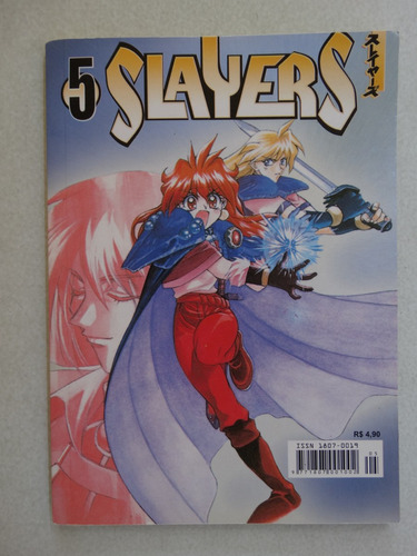 slayers nº 5! panini novembro 2004!
