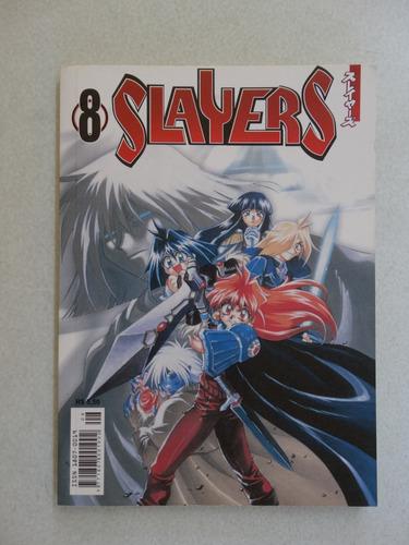slayers nº 8! panini fevereiro 2005!