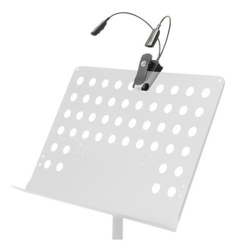 sled2pro lámpara de 4 leds para atril de partituras