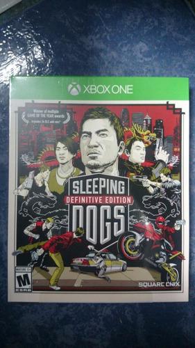 sleeping dogs definitive edition xbox one (videojuegosomega)