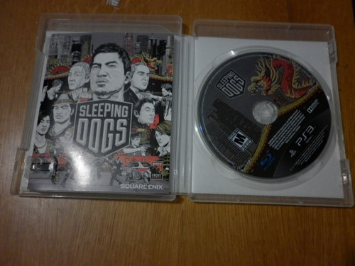 sleeping dogs - para play station 3