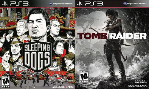 sleeping dogs ps3 + tomb raider ps3