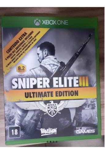 sleeping dogs + sniper elite 3 - xbox   one  - mídia física