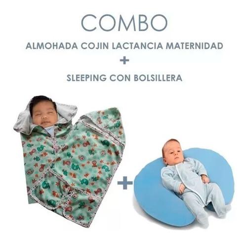 sleeping talego  bebes con cremallera mas cojin lactancia