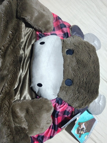 sleeping vaquita peluche - bolsa de dormir