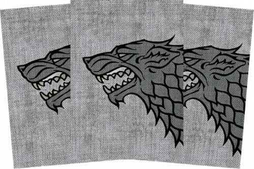 sleeves game of thrones guerra dos tronos casa stark