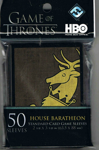 sleeves shields game of thrones guerra dos tronos baratheon