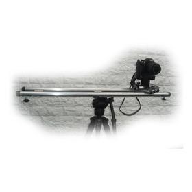 Slider 90 Cm Para Camaras Reflex, De Video Y Gopro. Aluminio