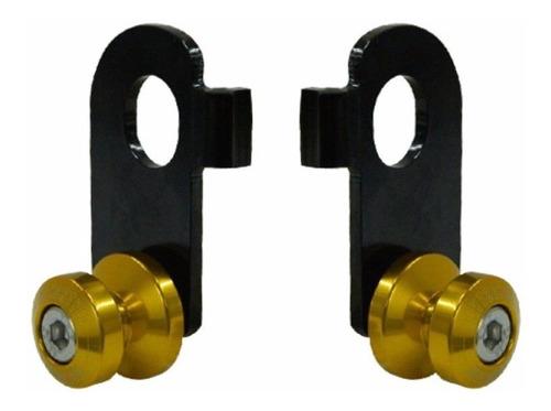 slider balanca cb 600 04-07 hornet honda  aluminio