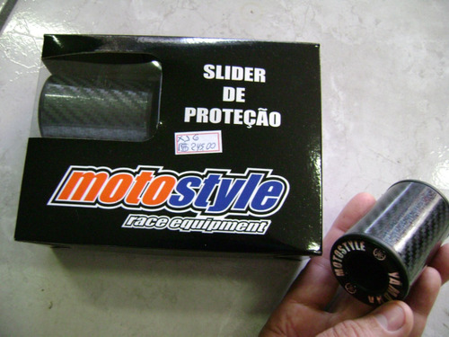 slider de proteção de carenagem cbr 600 rr  07/08/09
