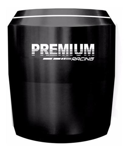slider dianteiro premium honda cb300 2009 2015 preto fosco