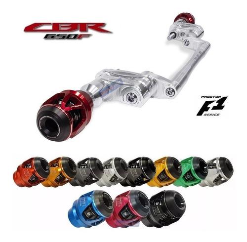 slider dianteiro protetor motor f1 procton racing honda cbr650f cbr 650f 2016 2017 2018 2019