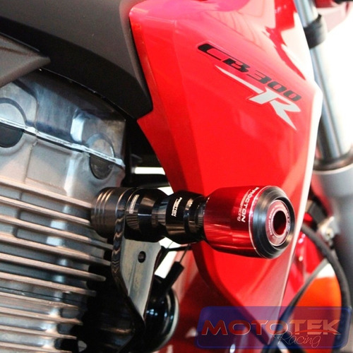 slider dianteiro protetor motor procton racing honda cb300r cb300 cb 300r