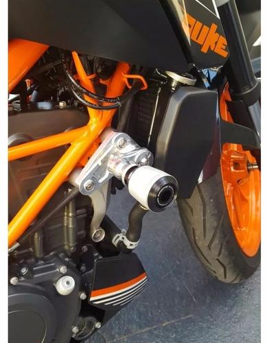 slider dianteiro protetor motor procton racing ktm duke 200