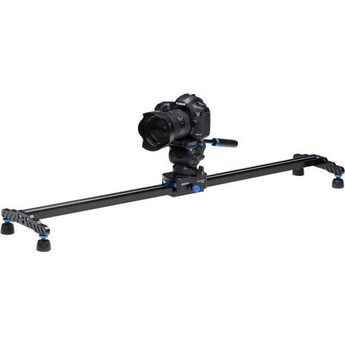 slider dolly 60cm benro a04s6 trilho de filmagem p/ 4kg