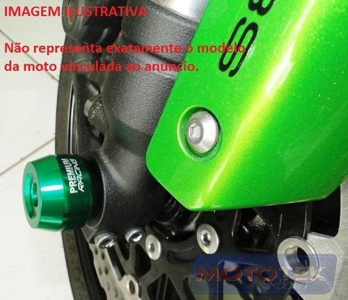 slider eixo de roda dianteira premium honda cb1000r cb 1000r
