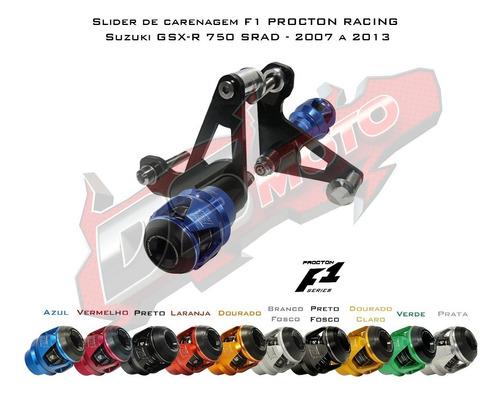 slider f1 procton racing - suzuki gsx-r 750 srad 2007 a 2013