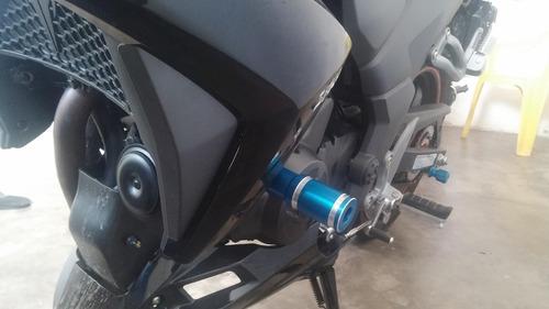 slider next250 kit slider dianteiro traseiro e tampa do óleo