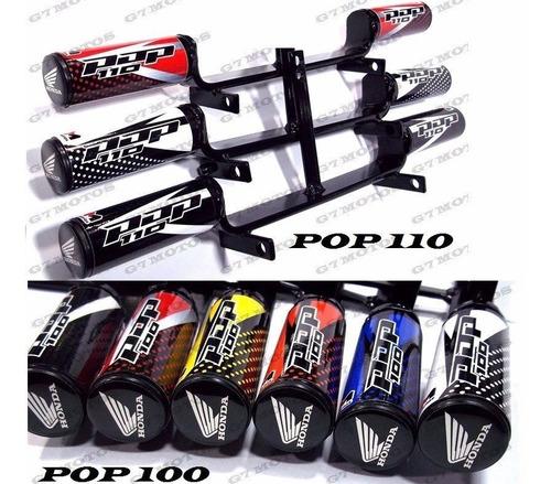 slider pop 100  110i  lampada farol led pop 100 ou 110i