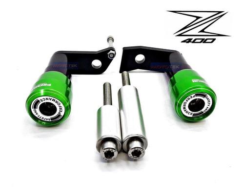 slider protetor motor premium racing kawasaki  z400 z 400