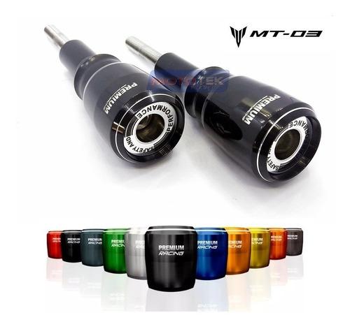slider protetor motor premium yamaha mt03 mt-03 2015 a 2020