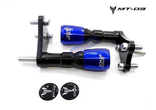 slider protetor motor speed style yamaha mt03 mt-03 mt 03