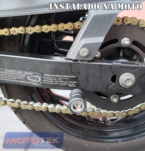 slider traseiro balança premium racing kawasaki ninja 400