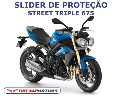 slider triumph street triple 675 2013 2014 2015 2016 2017