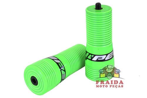 slider viper snake honda titan 150 / fan - verde neon