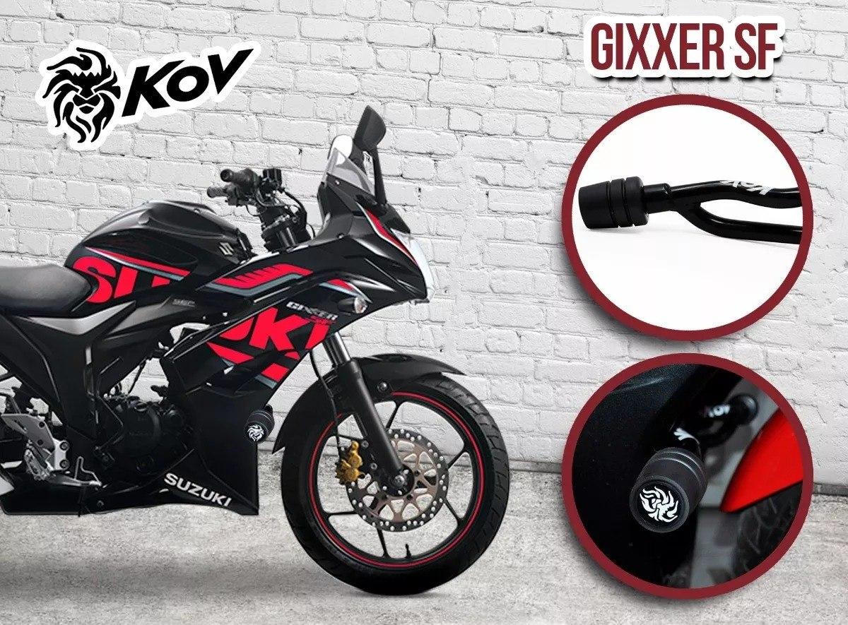 Sliders Suzuki Gixxer Sf Naked Protector Motor Deslizadores Cargando Zoom