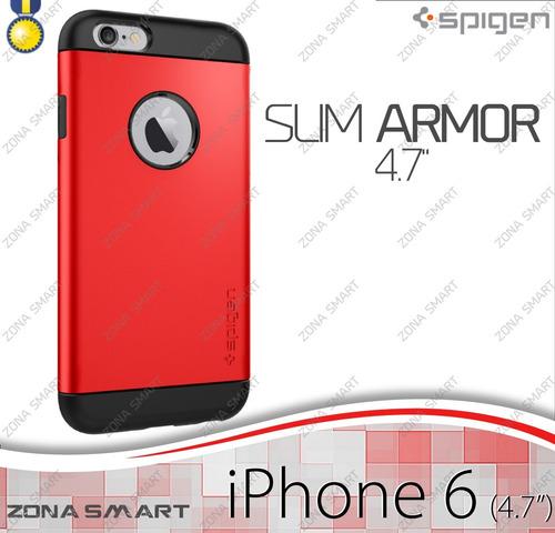 slim armor iphone 6 (4.7 pulgadas) funda spigen case