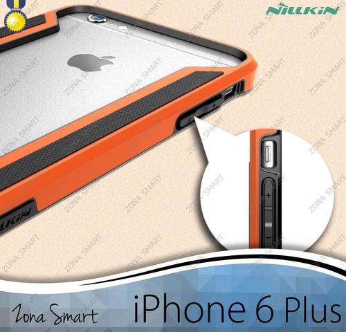 slim border iphone 6 plus (5.5) nillkin bumper armor tpu+pc
