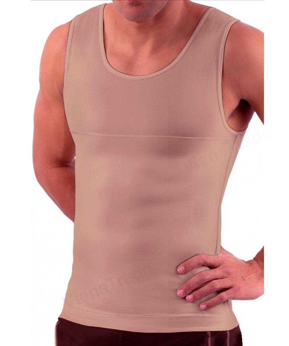 slim compressão colete - regata modeladora masculina - cinta. Carregando  zoom. 21a0a87dd3b