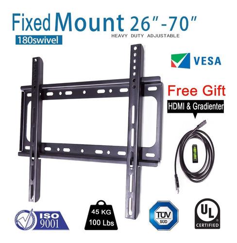 slim lcd led plasma flat tv soporte de montaje de pared 26 3