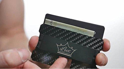 slim luxury mens wallet   fibra de carbono rfid blocking min